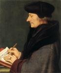 Retrato de Erasmo de Rotterdam Escrevendo