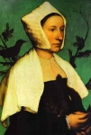 Retrato de Mulher com Esquilo e Estorninho