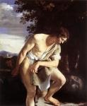 David Contemplando a Cabeça de Golias
