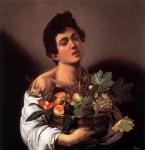 Menino com uma Cesta de Frutas