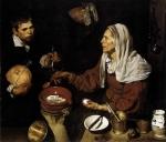 Velha Cozinhando Ovos