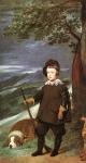 Príncipe Baltasar Carlos como Caçador