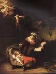 Sagrada Família com Anjos