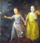 As Filhas do Pintor - Margareth e Mary - Caçando Borboletas