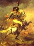 Oficial da Guarda de Cavalaria Imperial durante a Carga