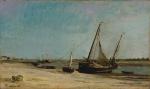 Barcos em Étaples