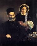 Senhor e Senhora Auguste Manet