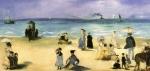 Na Praia em Boulogne-sur-Mer
