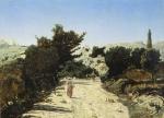 Estrada de Gineste perto de Marselha