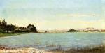 Um Lago no sul da França