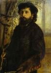 Retrato de Claude Monet