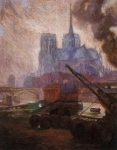 Notre Dame de Paris na Chuva