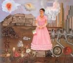 Auto-Retrato na Fronteira entre o México e os Estados Unidos