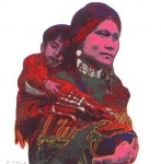 Índios - Mãe e Filho