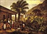 Índios em uma Fazenda de Minas Gerais