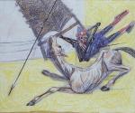 Dom Quixote Arremetendo contra Moinhos de Vento