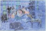 Sonho Azul de Sanço Pancha