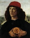 Retrato de um Homem com uma Medalha de Cosimo o Velho