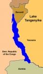 0-Lago Tanganica - map