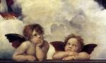 Anjos (Detalhe de Madona Sistina)