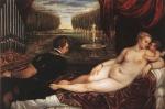 Vênus com Organista e Cupido